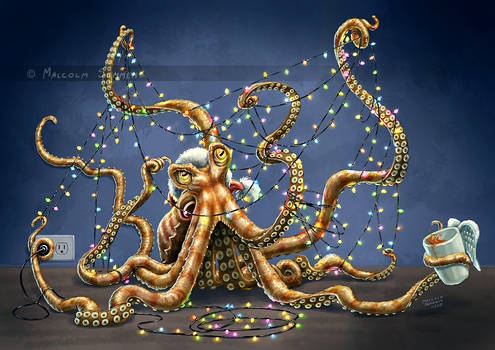 Christmas Octopus