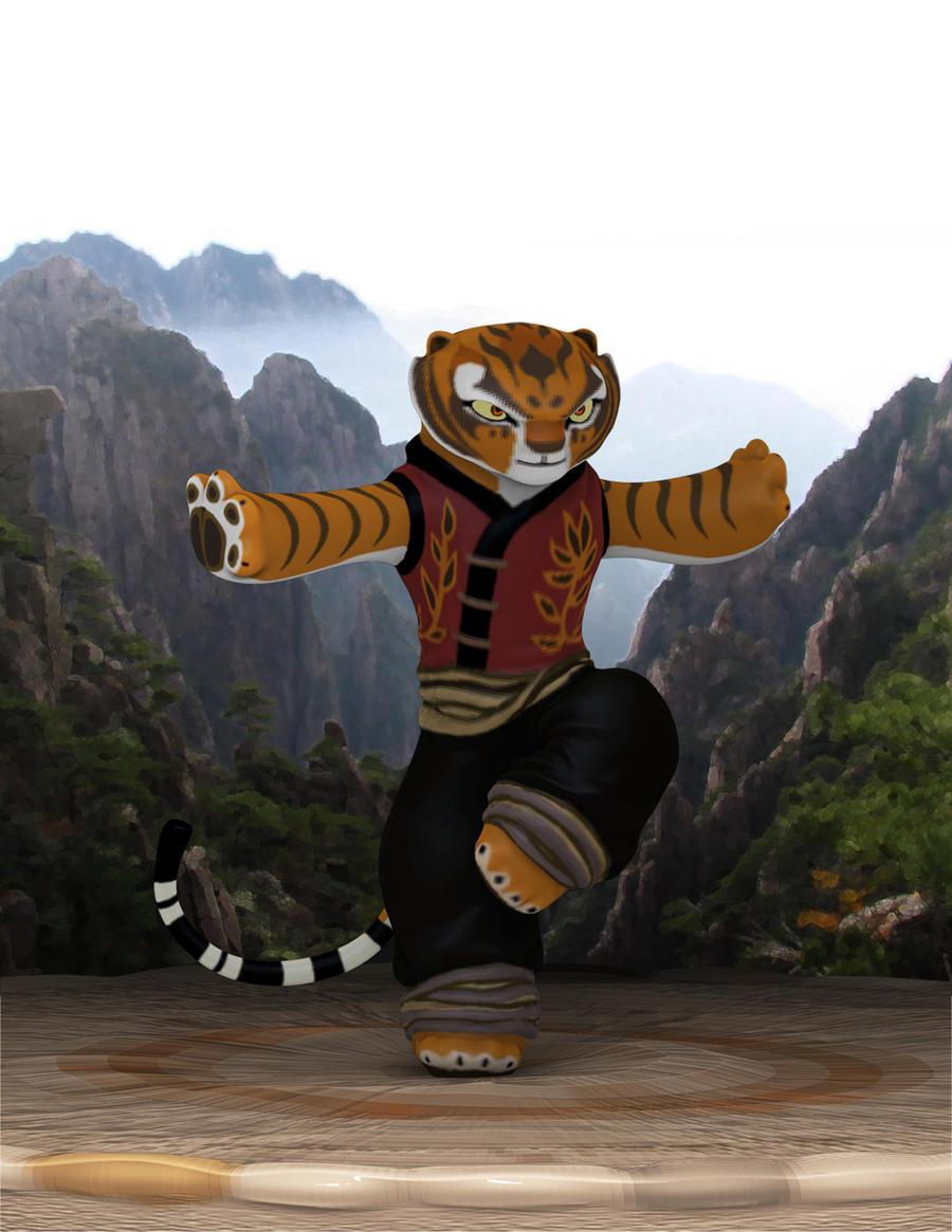Kung Fu Panda: Tigress by Sikura12 on DeviantArt