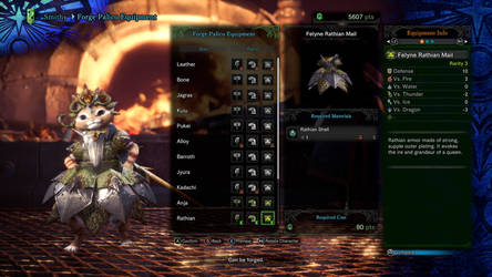 My Palico's second outfit 2