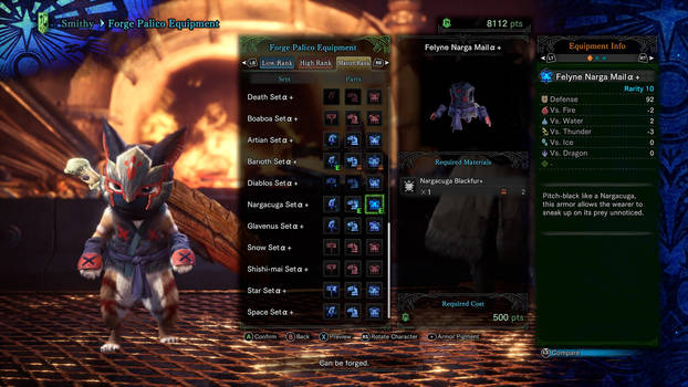 My Palico's Fifth outfit 5