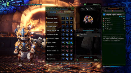 My Palico's Sixth outfit 6