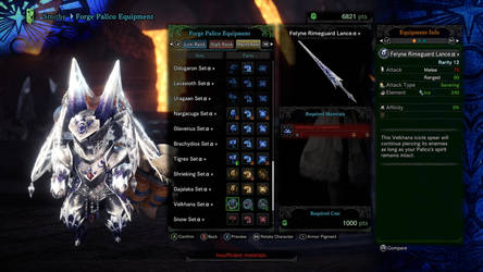 My Palico's Seventh outfit 7