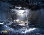 Lost Dog Storm by krugner
