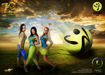 Zumba Poster Three Models