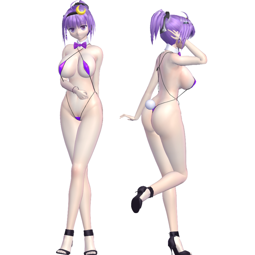 3d mmd patchouli knowledge dances to good luck 6