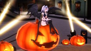 .:MMD Sakuya Izayoi Succubus Halloween Outfit:. by ONIGIRIKINGU