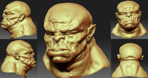 Orc - Speed Sculpt 002 by The-3DArtist
