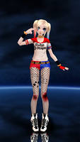 .:MMD:. OUTDATED Harley Quinn Suicide squad by Sheys-Cosplay
