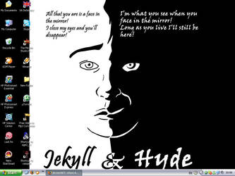 Jekyll and Hyde Wallpaper by MacavityTheJester