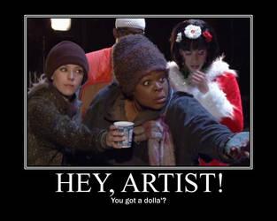 Hey, Artist by MacavityTheJester