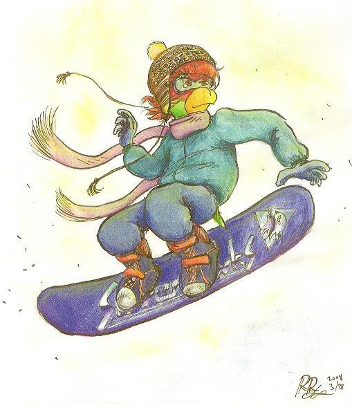 Lolo snowboard