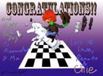 Birthday card for Chess Master Alexander (2011)