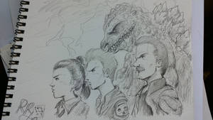 Godzilla Final Wars sketch