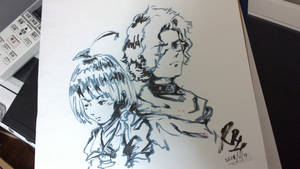 Mumei and Ikoma (Kabaneri of the Iron Fortress)
