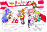 Macross Delta Walkure at In-N-Out