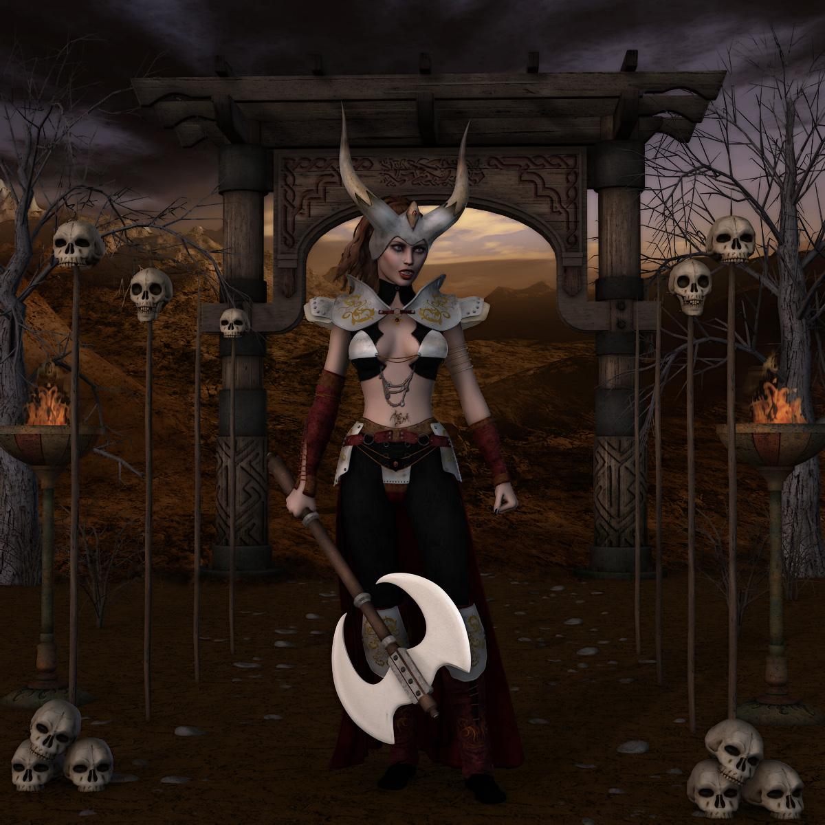 barbarian queen art - photo #3