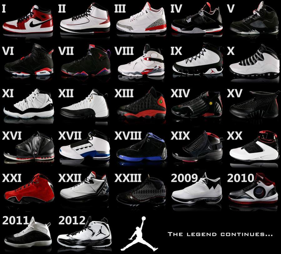 Nike Air Jordans HQ By JimmyDeB3at On DeviantArt