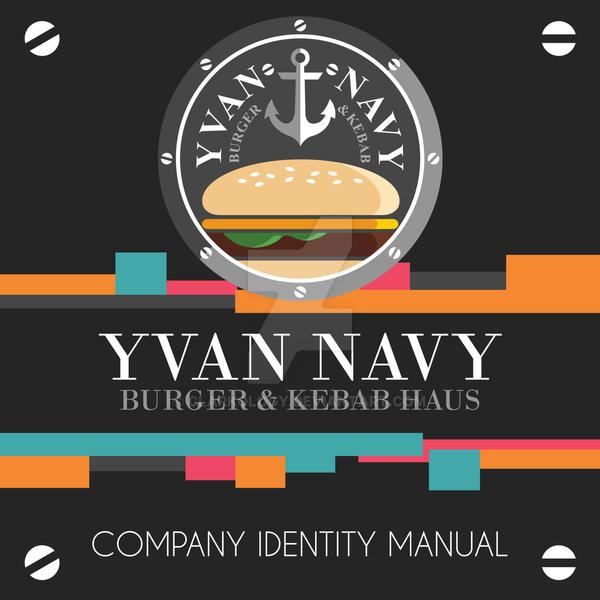 Yvan Navy Company Manual Design by Clarkology