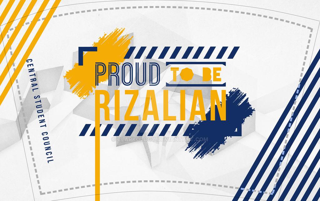 Proud to be Rizalian Tumbler Design by Clarkology