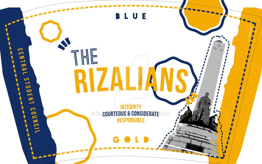 The Rizalians Tumbler Design by Clarkology
