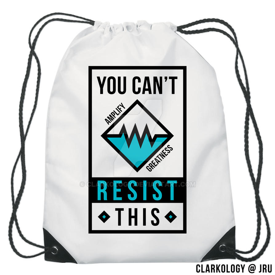 Can't Resist This String Bag Design by Clarkology