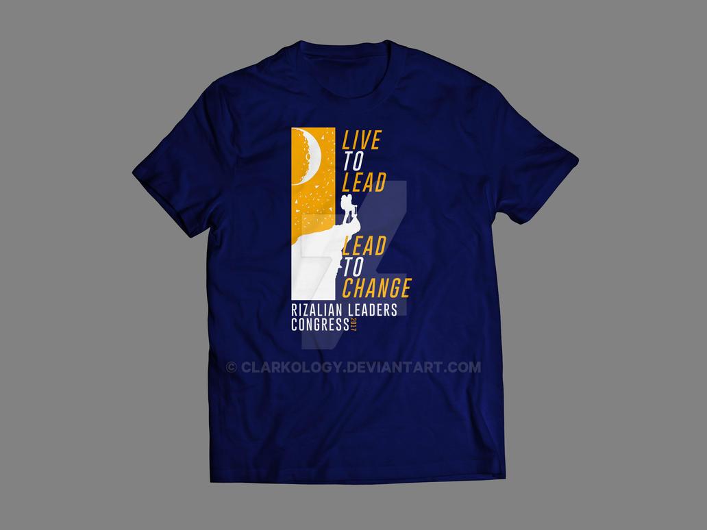 Shirt Design for RLC by Clarkology