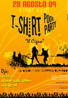 Flyer T-Shirt Party by TommyGuitar
