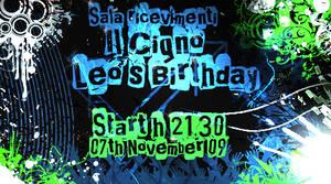 Invito di Compleanno Leo by TommyGuitar
