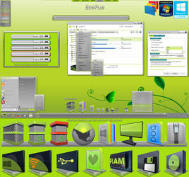 EcoFun Theme Pack by basj