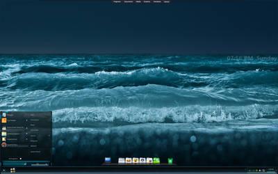 My Desktop April 2015 by basj