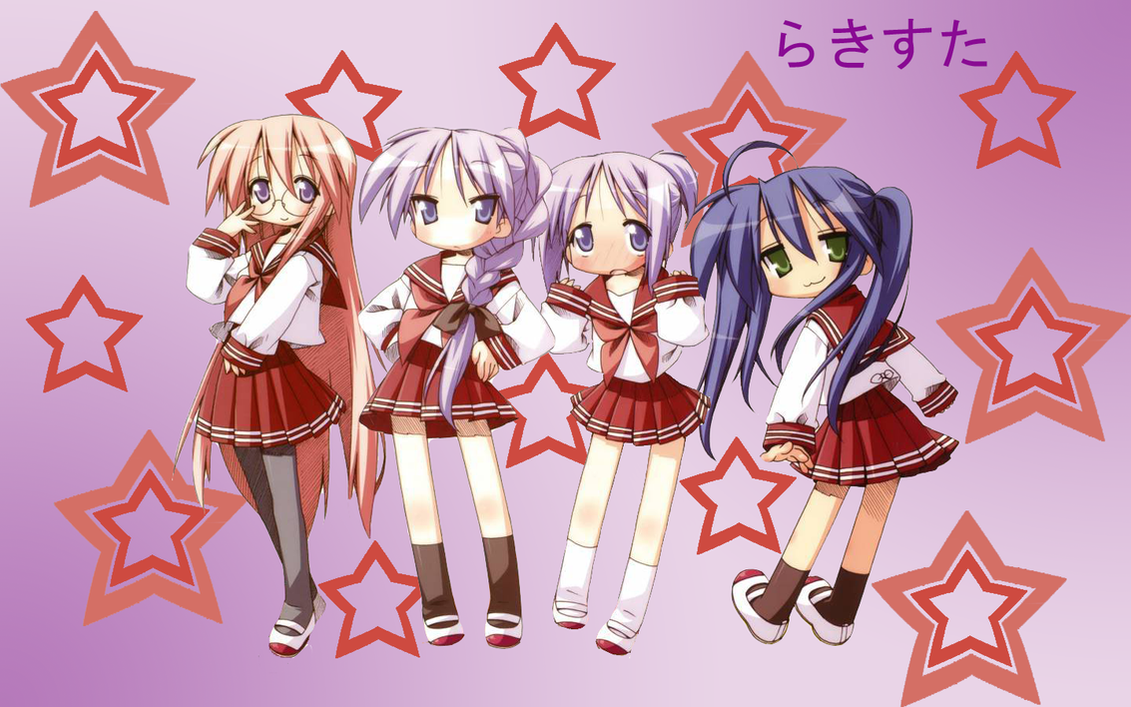 lucky star wallpaper testx16phoenix on deviantart