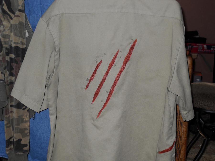 Costume Park Ranger Park Ranger Costume Rearview