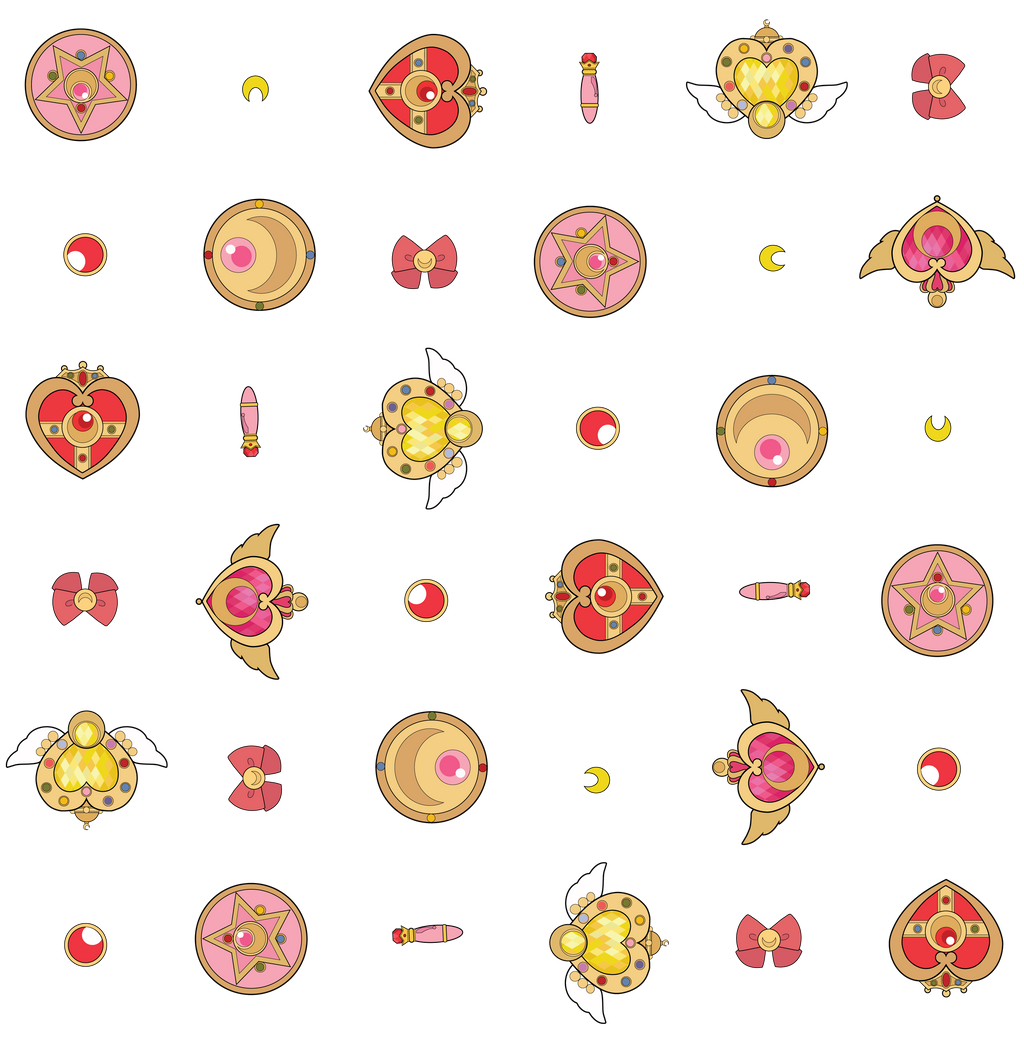 Sailor Moon pattern by Qtear on DeviantArt