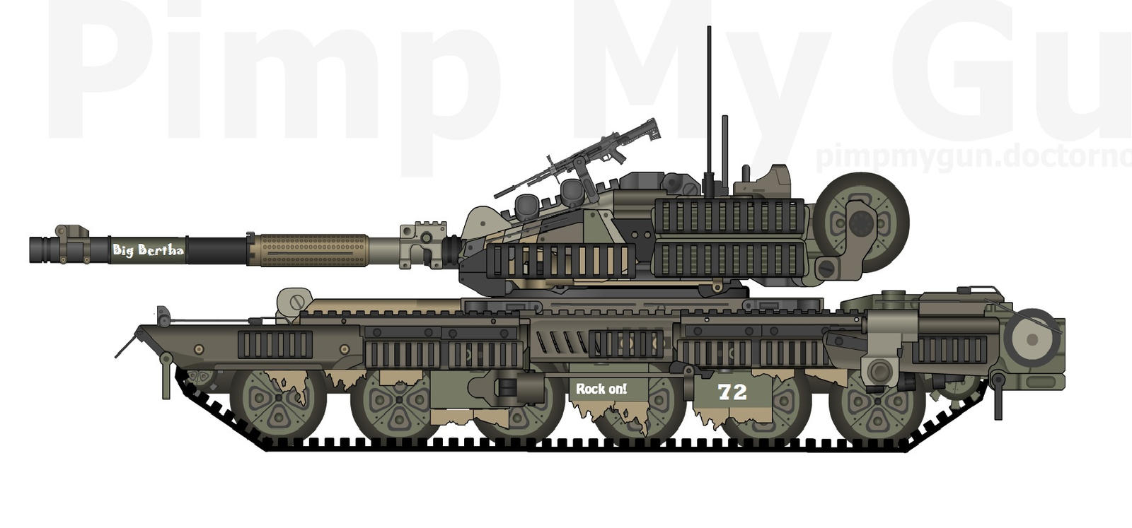 RA-89 Heavy Tank by dirtbiker715