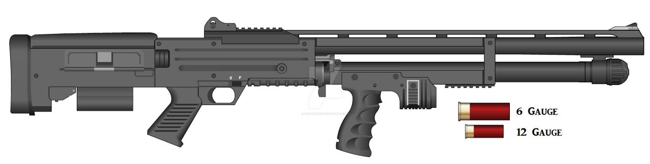 SGC-93 Shotgun by dirtbiker715 on DeviantArt