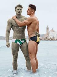 Statue couple #01
