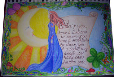 Irish Blessing by 1purplepixie
