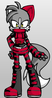 Zoey the wolf