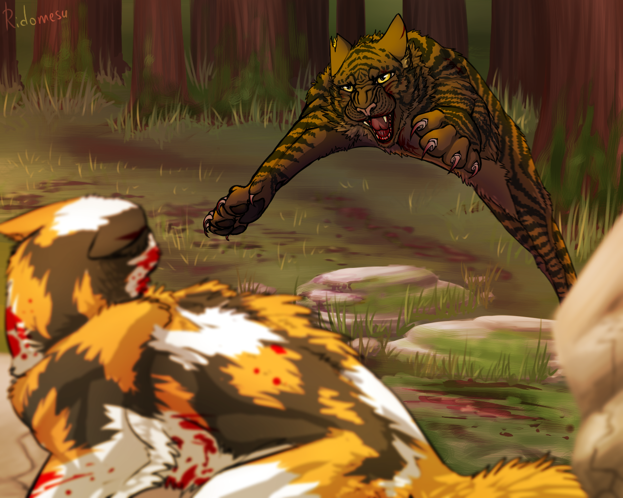 Warrior Cats Spottedleafs Death