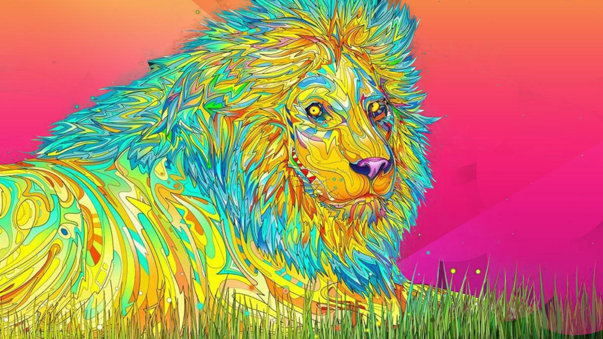 List Of Synonyms And Antonyms Of The Word Trippy Lion