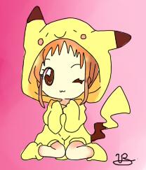 Pikachu girl by vane222