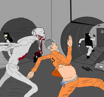scp-096 breach. by dewery2539