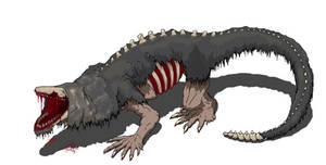 SCP 682 : Hard to destroy reptile.