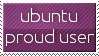 Ubuntu stamp - Aubergine by nerode