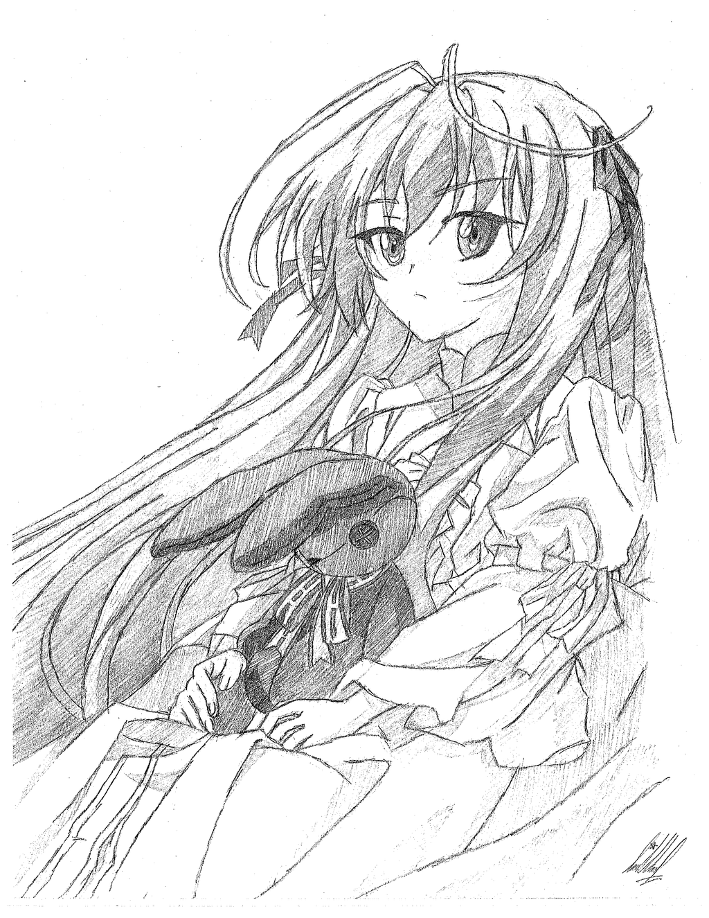 Kasugano Sora by CutieKittie999