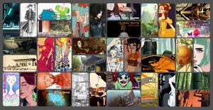 Influence Map 2013 by Ink-Jam