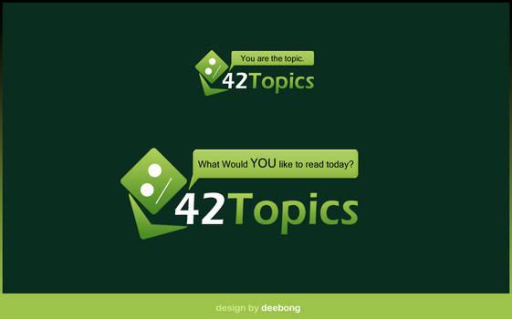42Topics Logo Design