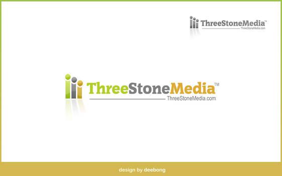 ThreeStoneMedia Logo Design