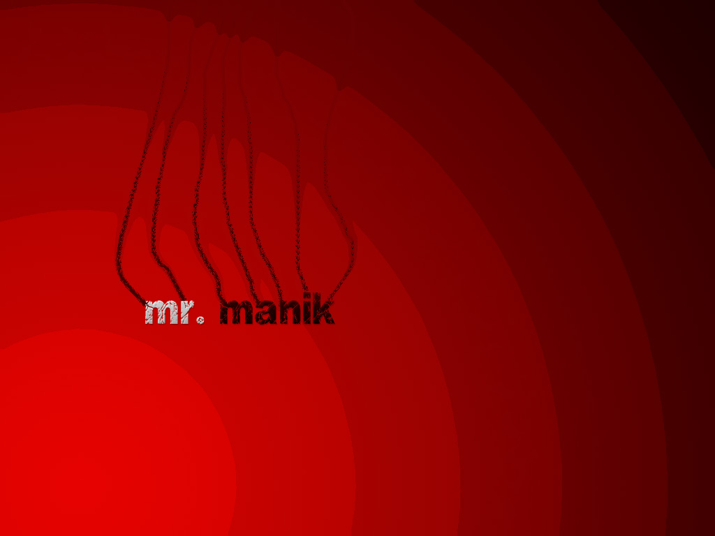 Mr Manik Wallpaper design