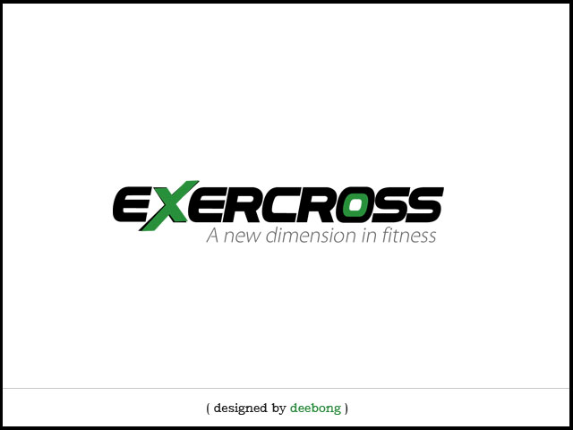 Exercross Logo Design Concept